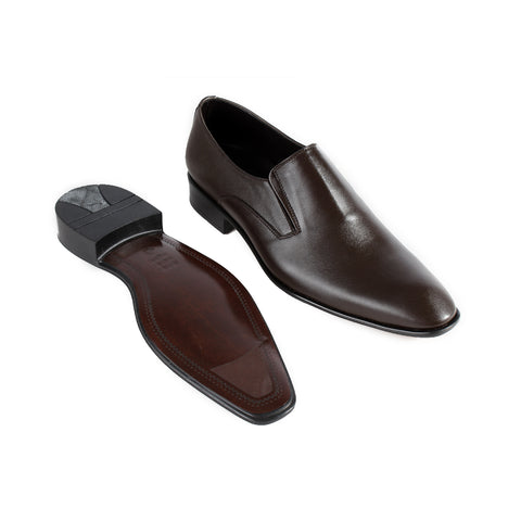 Formal  shoes /  100% genuine leather -brown -6353