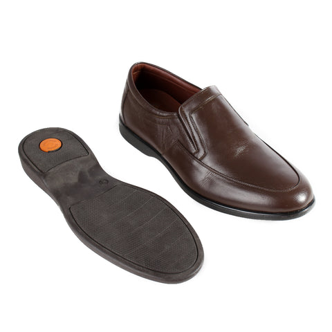 Formal  shoes /  100% genuine leather -brown -6355