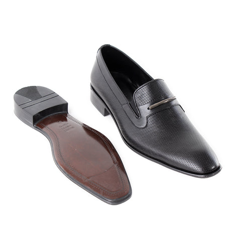 Formal  shoes /  100% genuine leather -Black -6364