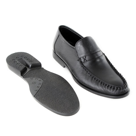 Formal  shoes /  100% genuine leather -Black -6366