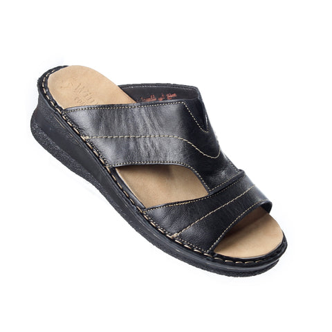 Medical slipper / genuine leather -5681