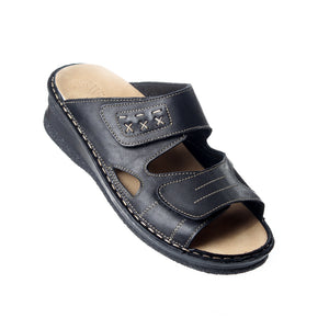 Medical slipper / genuine leather -5682