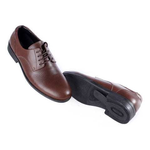 Men  shoes / 100 % genuine leather/ brown -6970