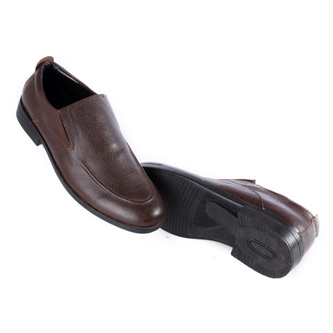 Men  shoes / 100 % genuine leather/ brown -6973