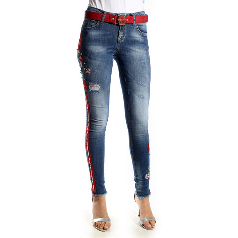 Skinny Jeans/ blue/ cotton/ made in Turkey -3461