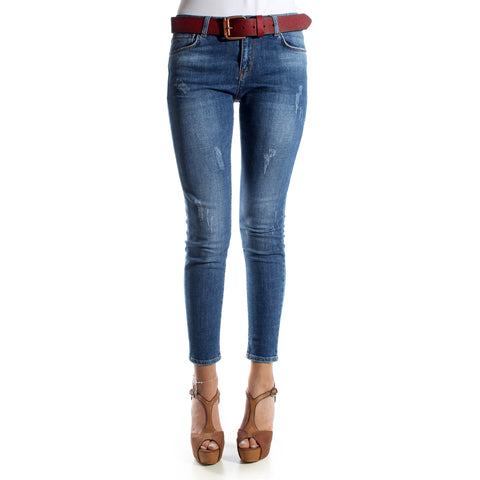 Skinny Jeans/ blue/ cotton/ made in Turkey -3464