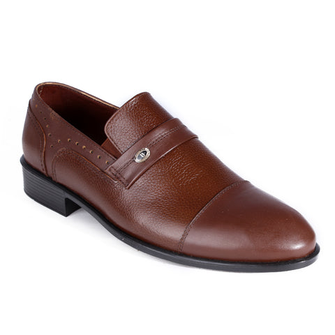 Men  shoes / 100 % genuine leather/ brown