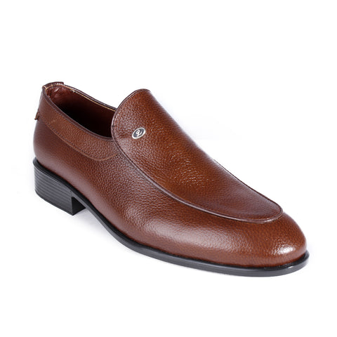 Men  shoes / 100 % genuine leather/ brown-6996