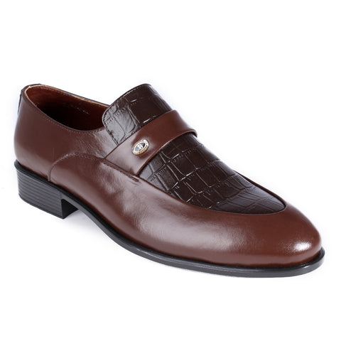 Men  shoes / 100 % genuine leather/ brown -6997