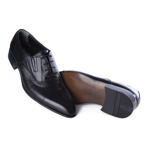 Men  shoes / 100 % genuine leather/ black -6981