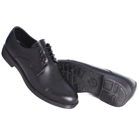 Men  shoes / 100 % genuine leather/ black -7113