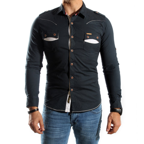 Men Shirt / 100 cotton -5725