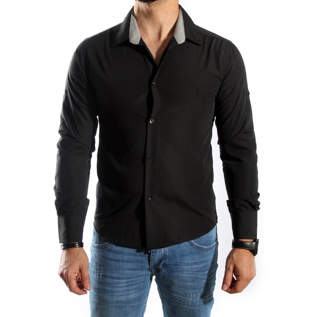 Men Shirt / 100 cotton -5717