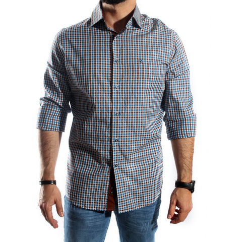 Men Shirt / 100 cotton -5735