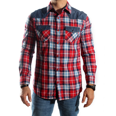 Men Shirt / 100 cotton -5687