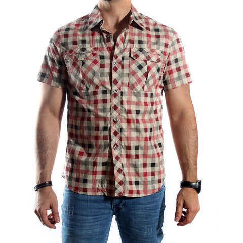 Men Shirt / 100 cotton -5695