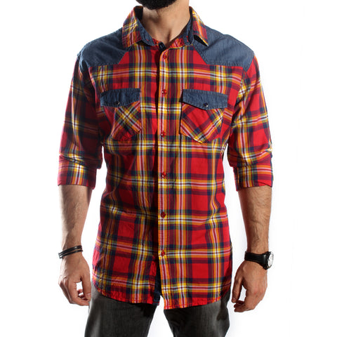 Men Shirt / 100 cotton -5689