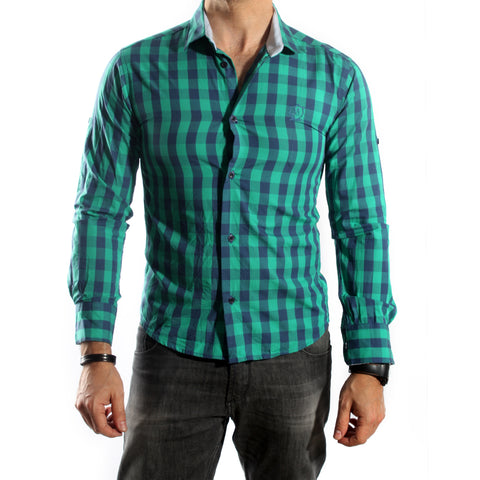 Men Shirt / 100 cotton -5742