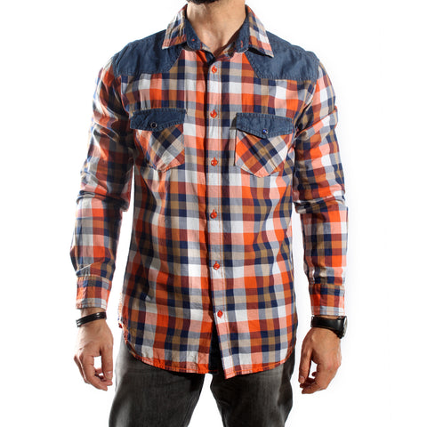Men Shirt / 100 cotton -5690