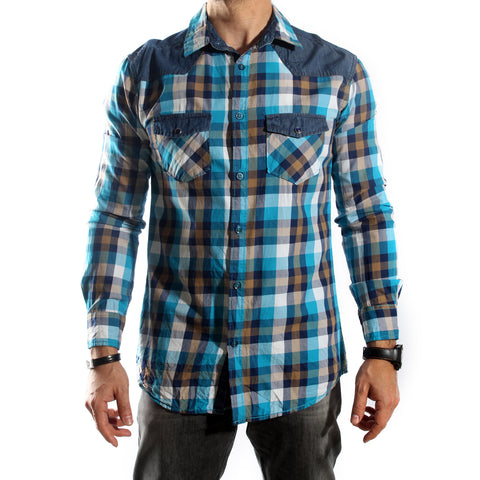 Men Shirt / 100 cotton -5686