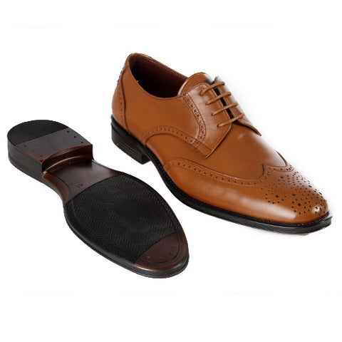 Formal Shoes - Brown -5804