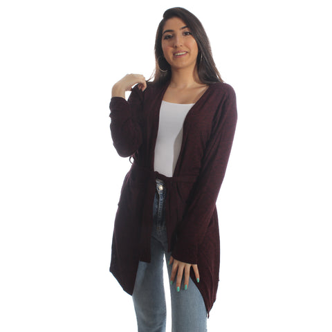 Women Autumn Winter Long Sleeve Cardigan – Free Size -5873