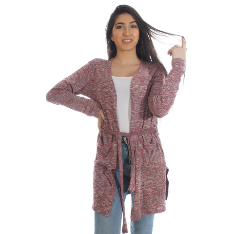 Women Autumn Winter Long Sleeve Cardigan – Free Size -5872