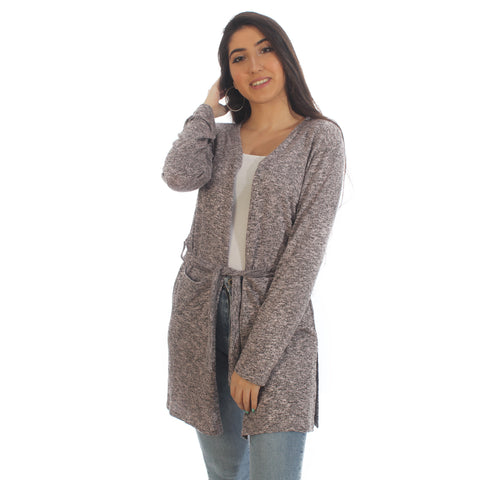 Women Autumn Winter Long Sleeve Cardigan – Free Size -5874