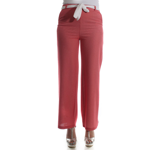 Women pant – red -5832