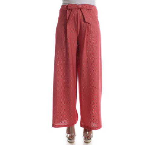 Women pant – red -5833