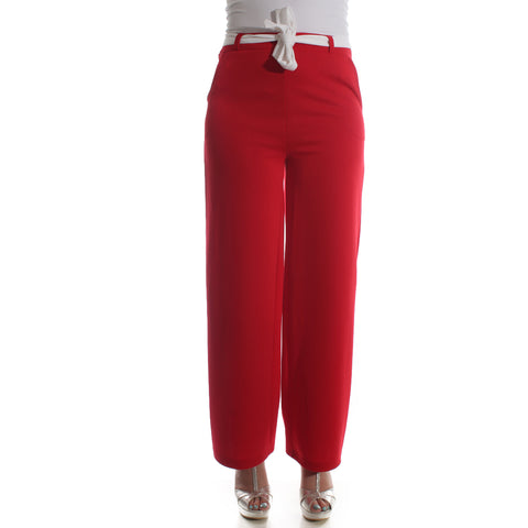 Women pant – red -5831