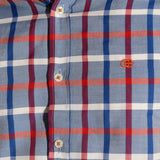 Men shirt- colored karohat  / made in Turkey -3303