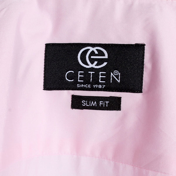Men shirt-light pink/ made in Turkey -3313