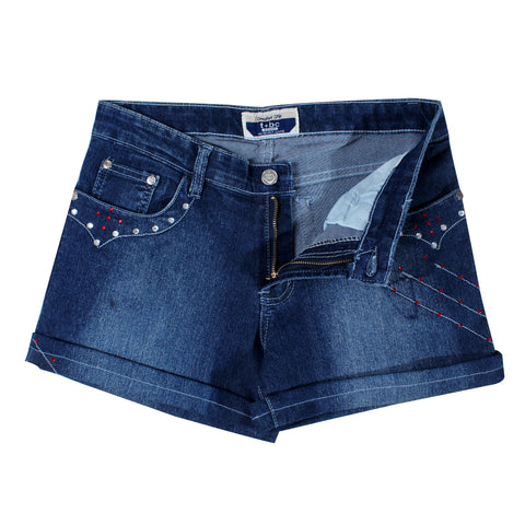 women denim short -5848