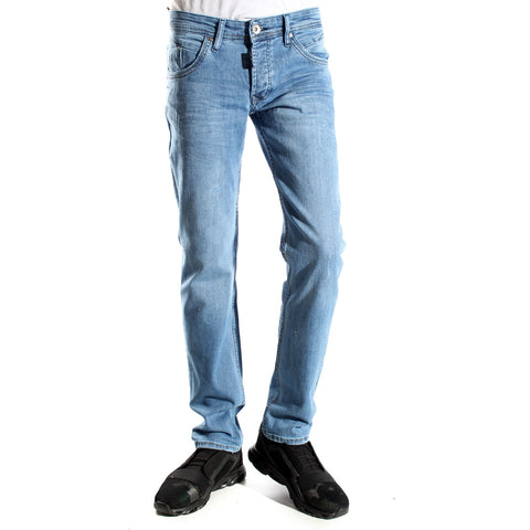 Denim blue Pants/ made in turkey -3376