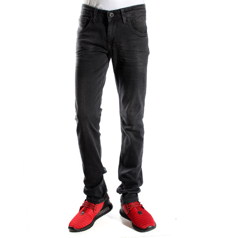 Denim black Pants/ made in turkey -3374