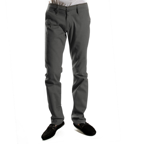 fabric pant- gray/ made in Turkey -3377