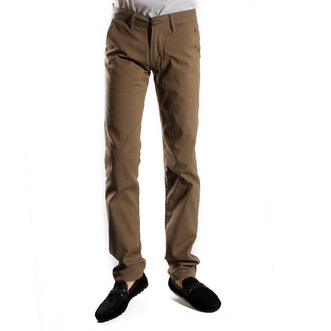 fabric pant- khaki/ made in Turkey -3378