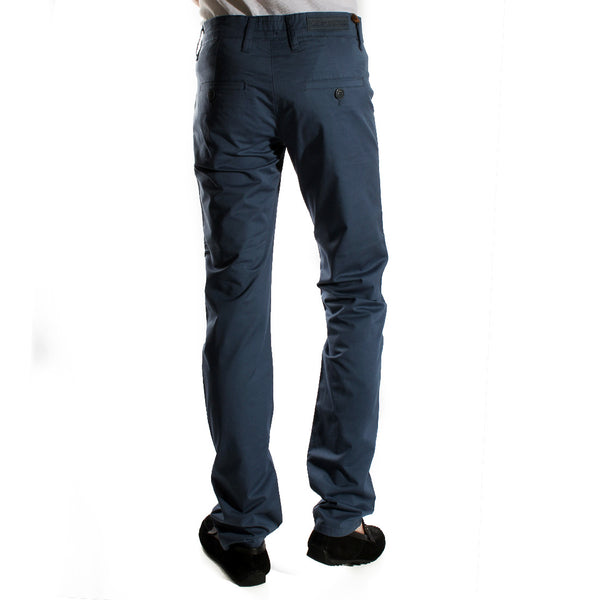 fabric pant- navy/ made in Turkey -3383
