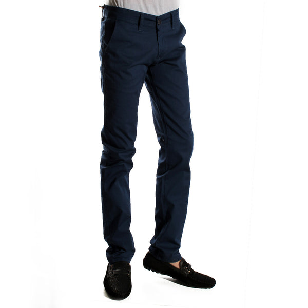 fabric pant- navy/ made in Turkey -3379
