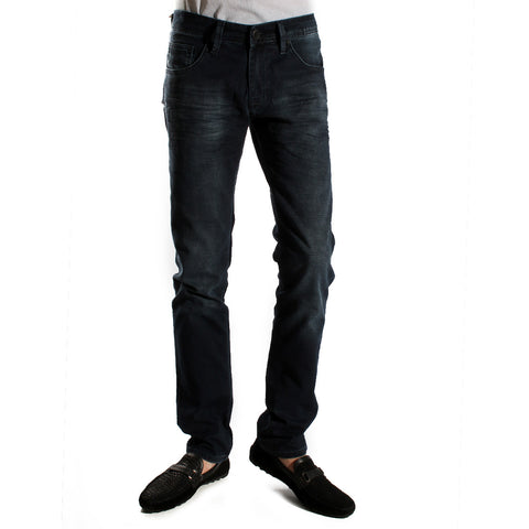 Denim navy Pants/ made in turkey -3372