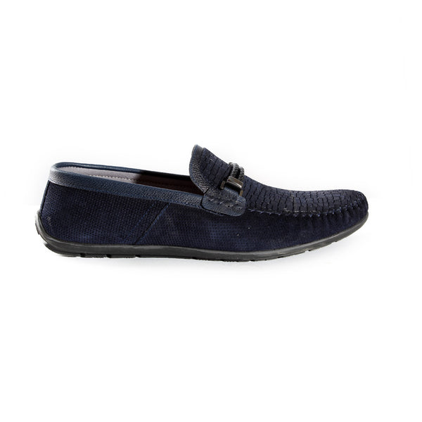 casual top sider shoes / navy / made in Turkey -3391