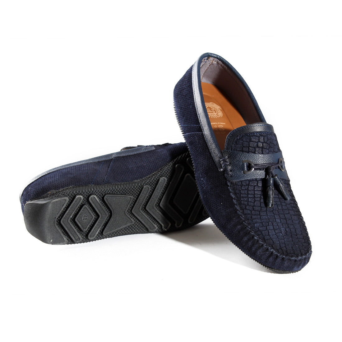 casual top sider shoes / navy / made in Turkey -3392