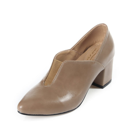 women elegant shoes / genuine leather 100 % -6118
