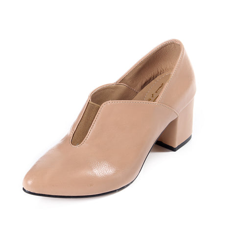 women elegant shoes / genuine leather 100 % -6119