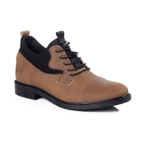 Men winter shoes / 100 % genuine leather -6052