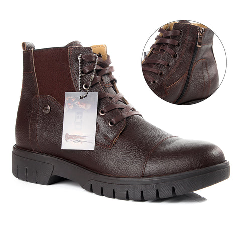 Safety Boots design / 100 % genuine leather -6020