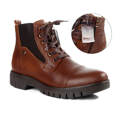 Safety Boots design / 100 % genuine leather -6022