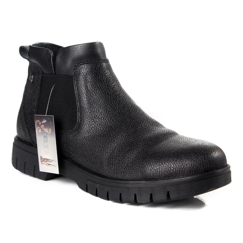Men winter shoes / 100 % genuine leather -6032