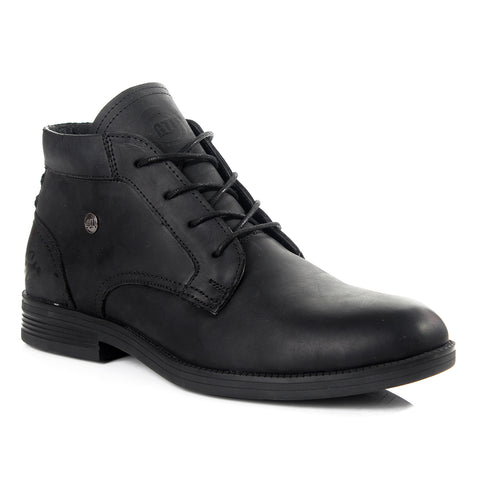 Men winter shoes / 100 % genuine leather -6034